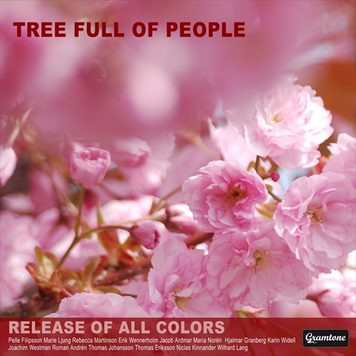 Release of all colors - Tree full of people